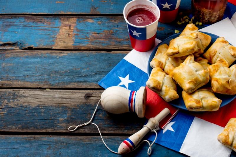 O que fazer em Santiago do Chile, setembro. Comidas típicas chilena nas festas patrias