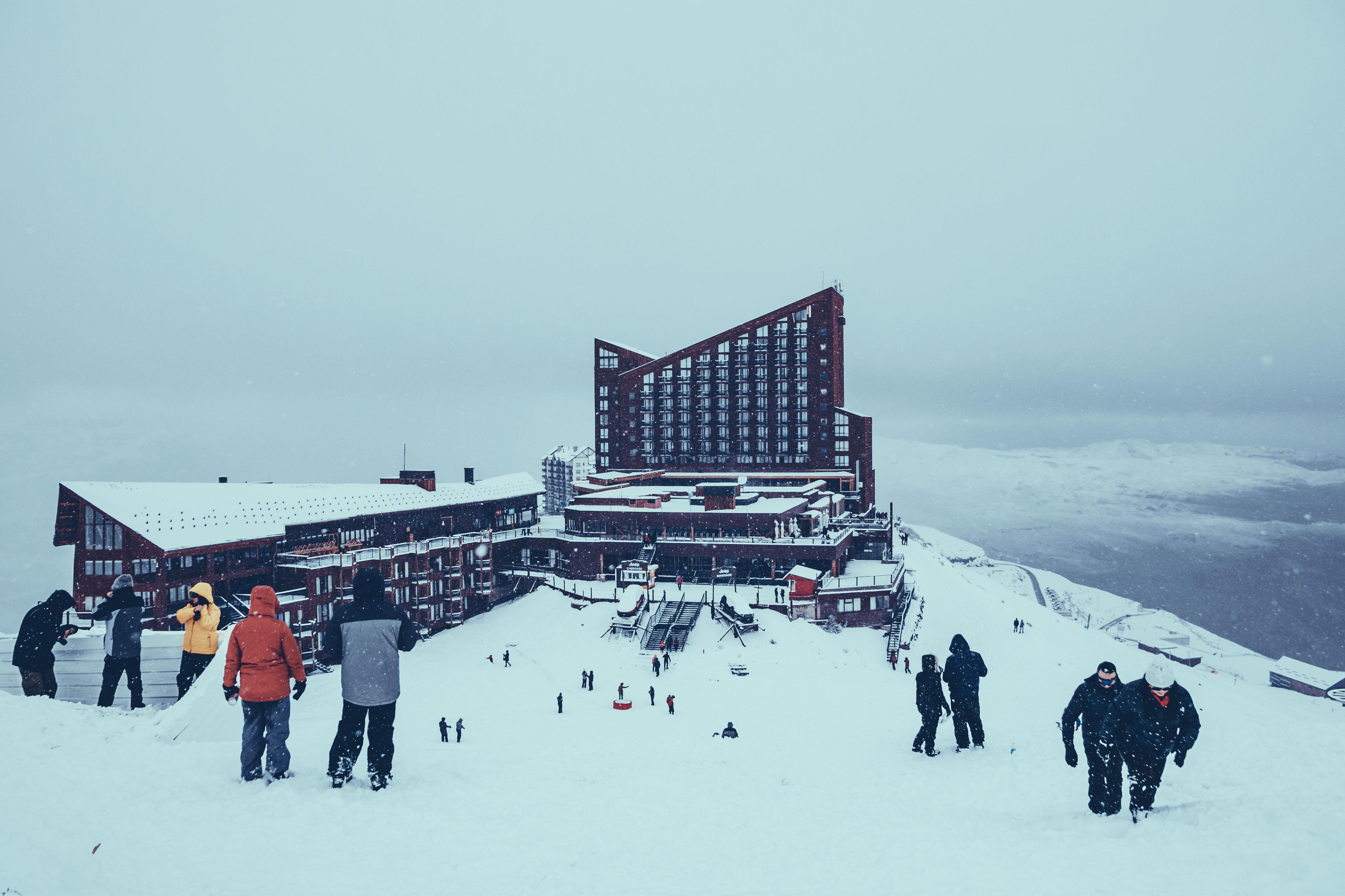 Valle Nevado, estação de ski Santiago do Chile