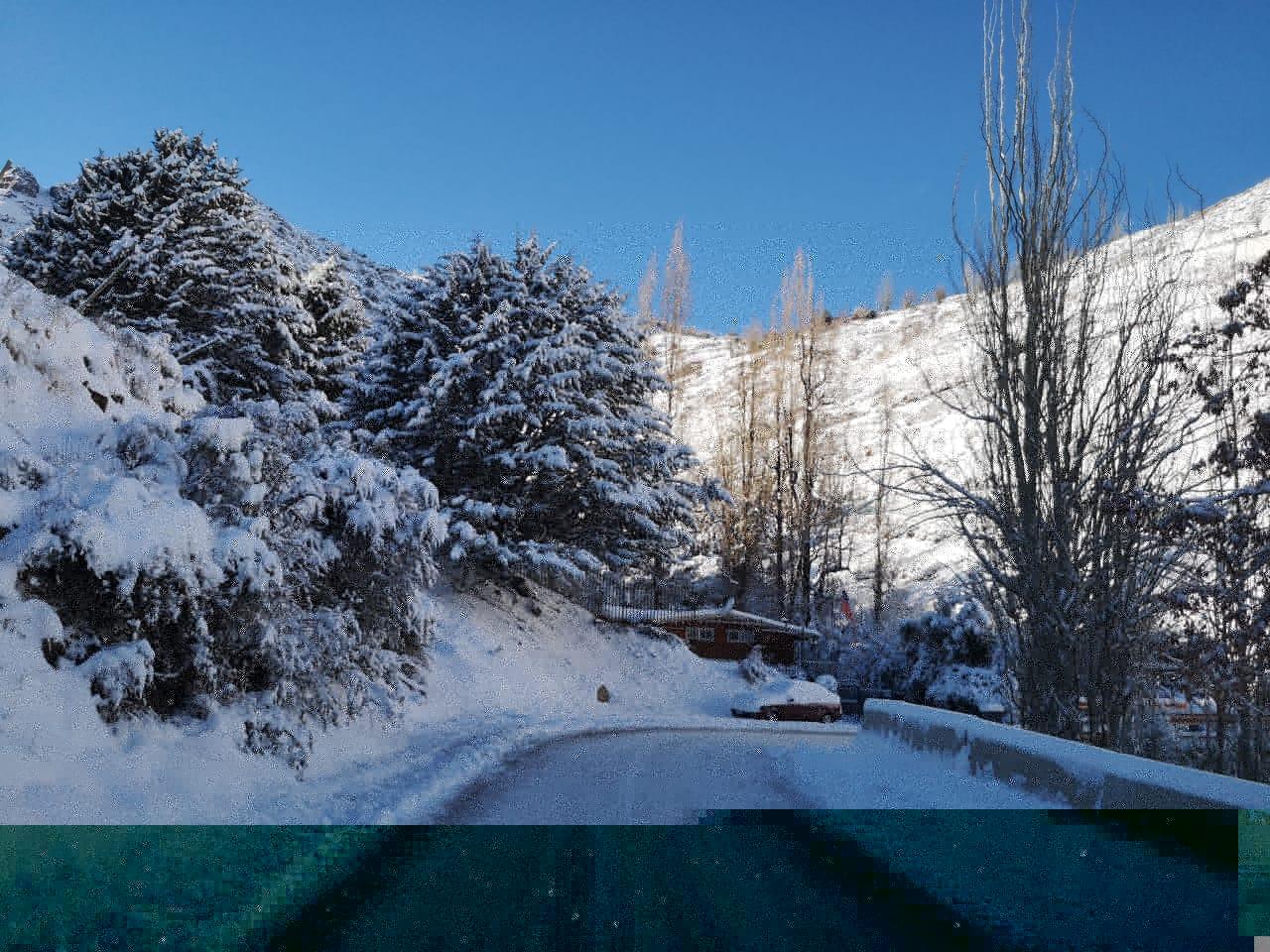 Neve em Santiago do Chile