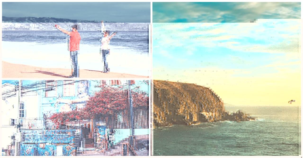Viña del Mar e Valparaíso no Chile