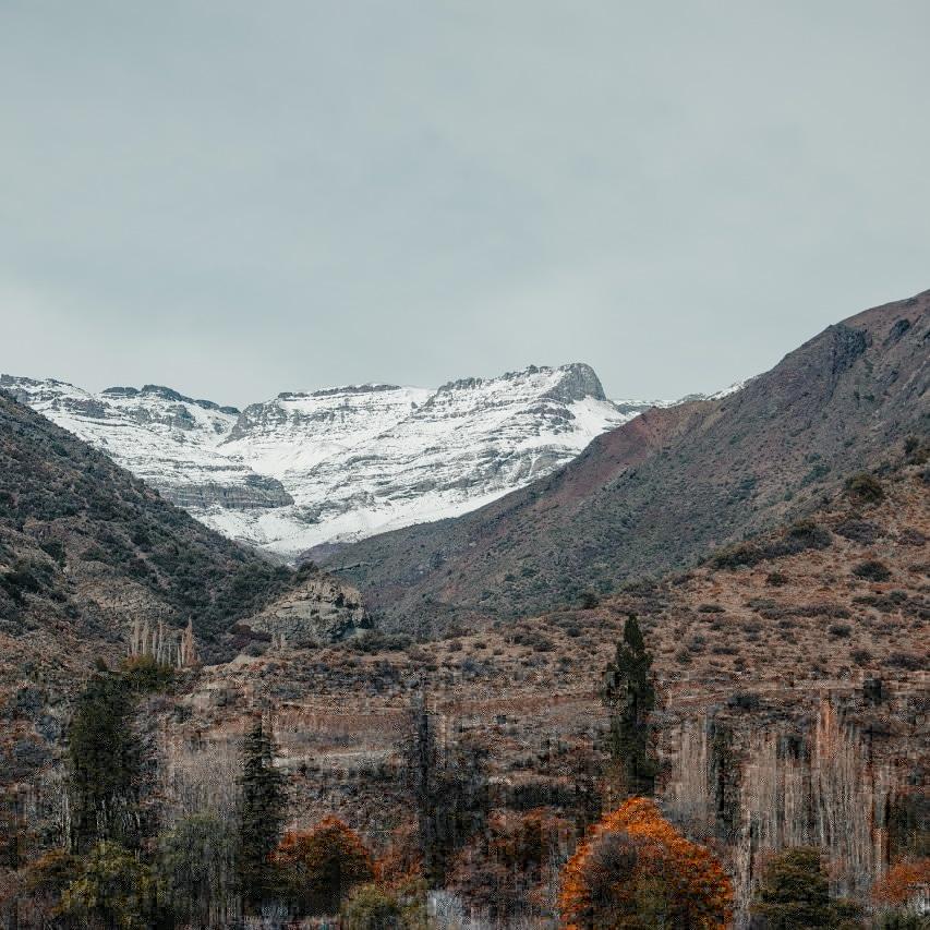 Cajón del Maipo passeio de inverno Santiago do Chile