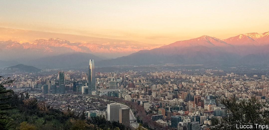 Santiago do Chile, turismo no Chile