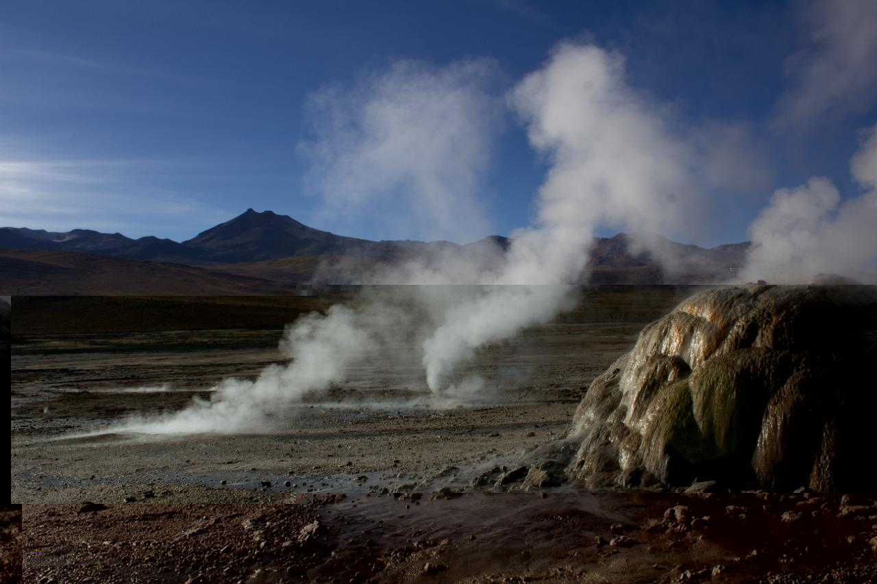 Geysers el Tatio no Atacama
