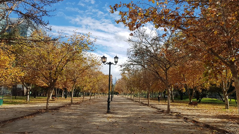 Santiago do Chile em Abril