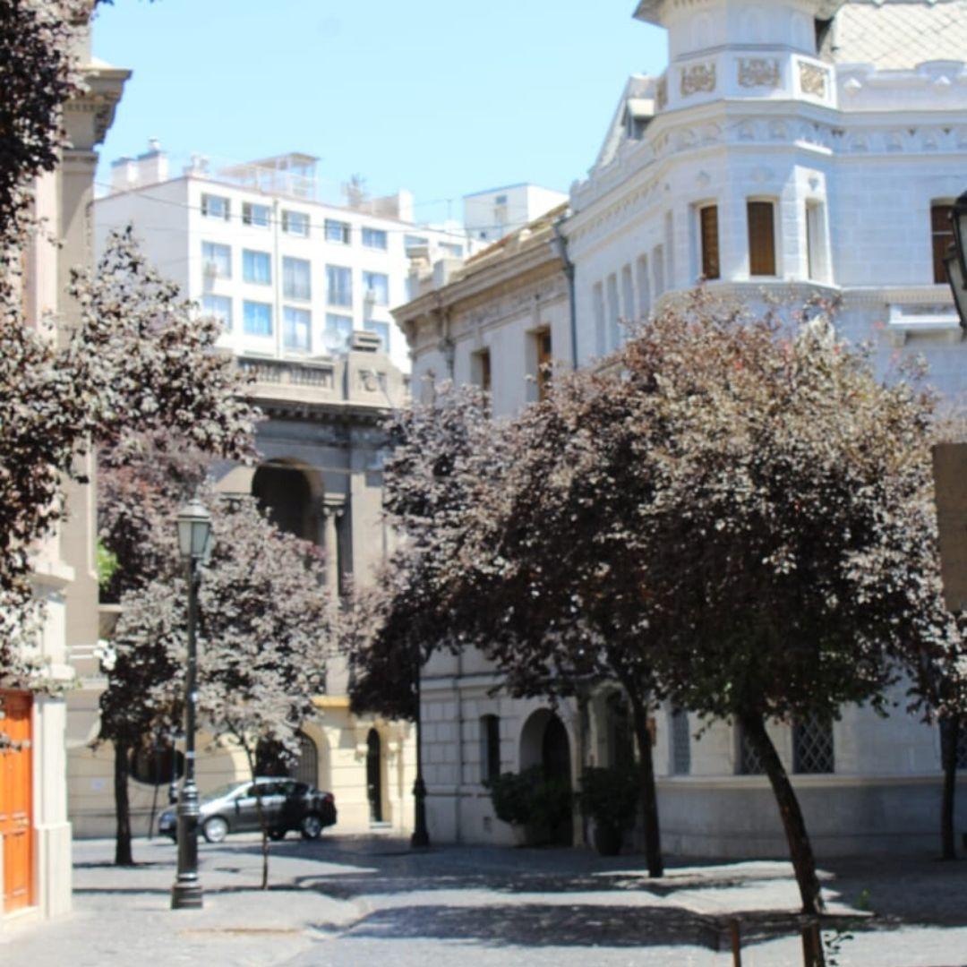 Bairros turisticos em Santiago do Chile
