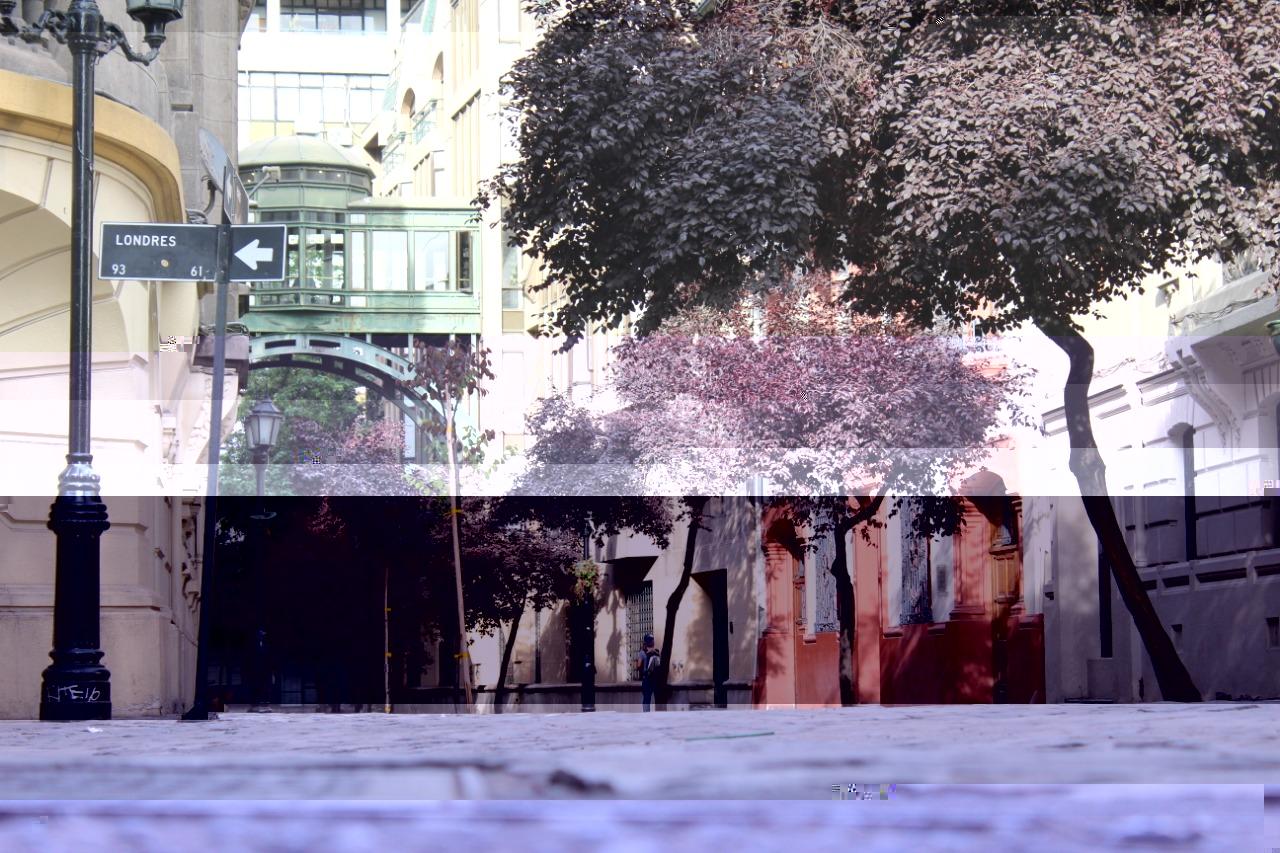 Bairro Paris Londres, turismo Santiago do Chile
